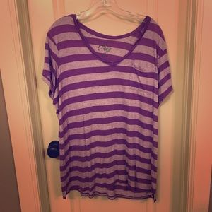 Just My Size Striped Tee